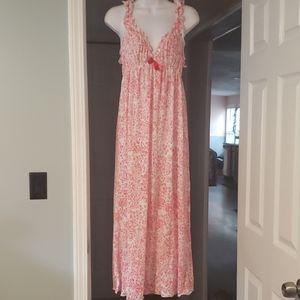 Oscar de la Renta Pink Label Nightgown Sz L